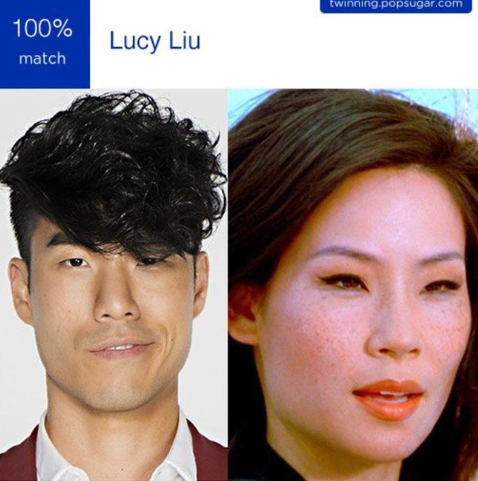 Most Funny popsugar Twinning App look Alike images
