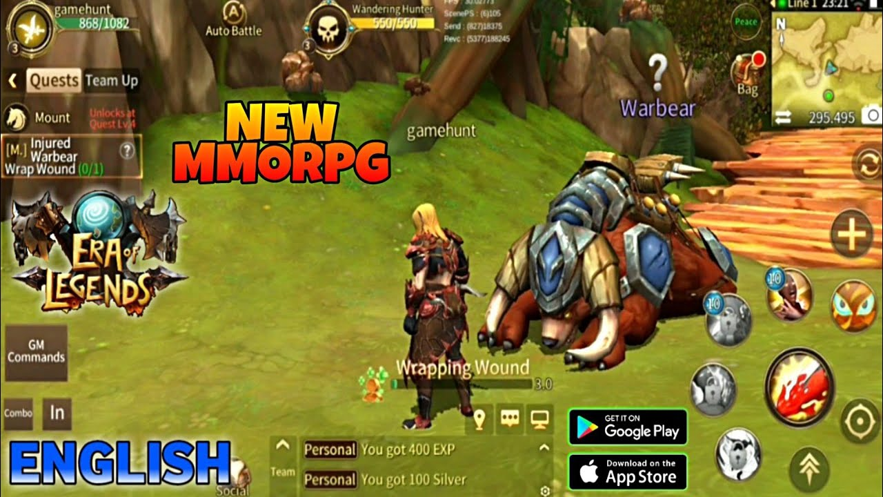 Era of Legends Mod Apk - Fantasy MMORPG in your mobile for