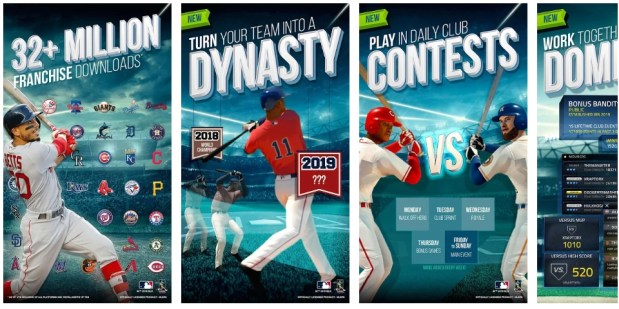 MLB Tap Sports Baseball 2019 Mod apk