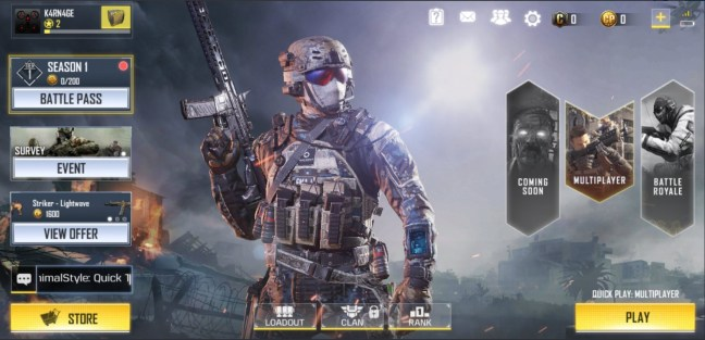Call of Duty Mobile Apk Android OBB Data full Download