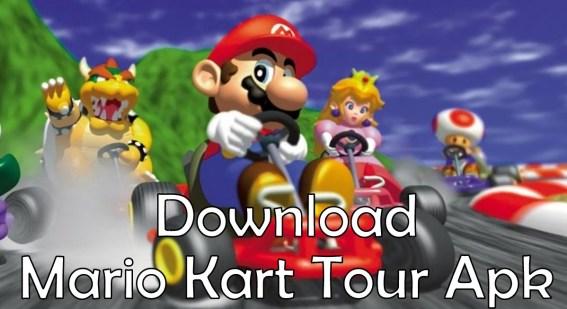 Mario Kart Tour Apk Beta Android