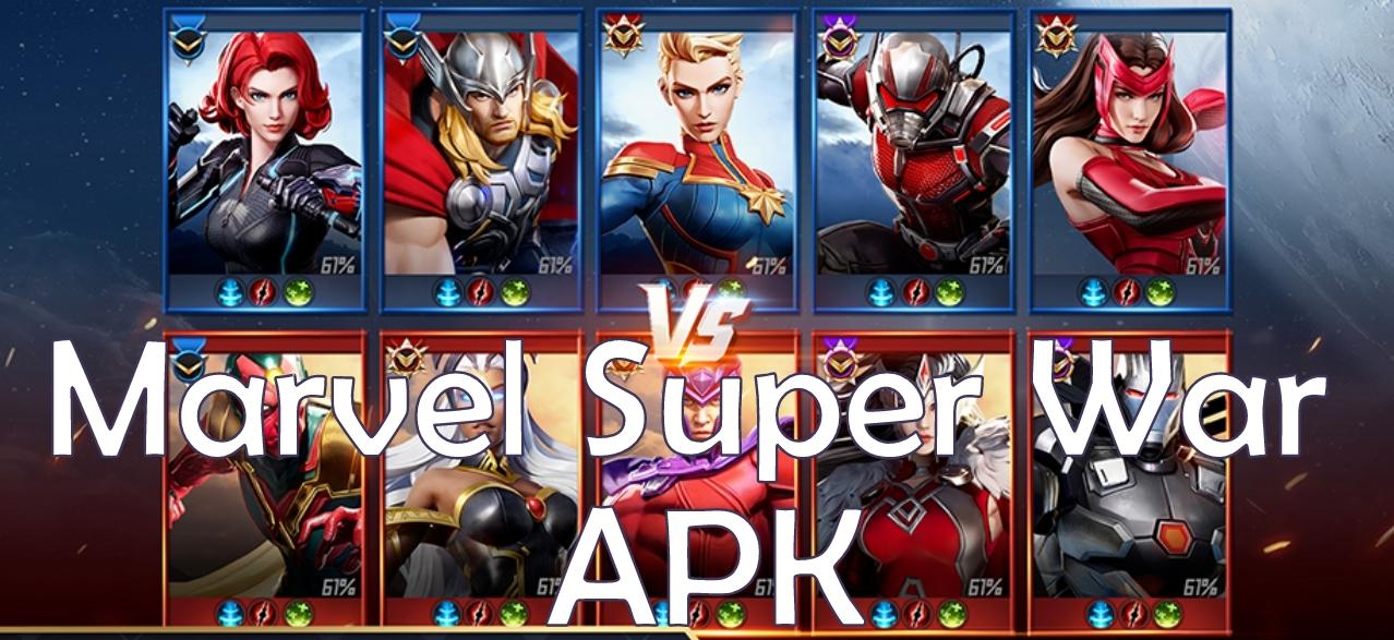 Marvel Super War Apk v1 6 0 (Closed Beta) for Android +OBB/Data