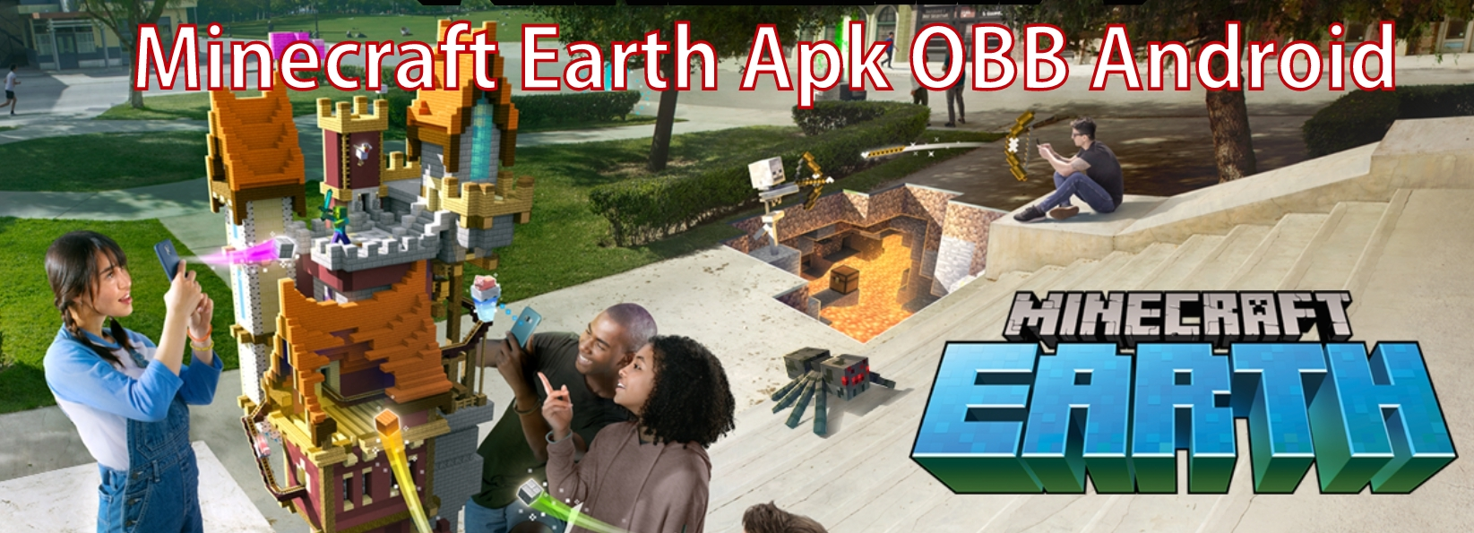 Minecraft Earth Apk for Android Download and Minecraft your