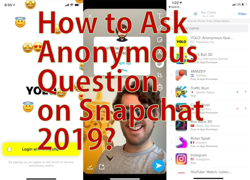 How to Ask Anonymous Questions on Snapchat 2019  [Android