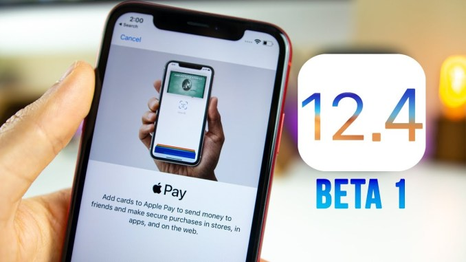 iOS 12.4 Beta 2 ipsw Download Link