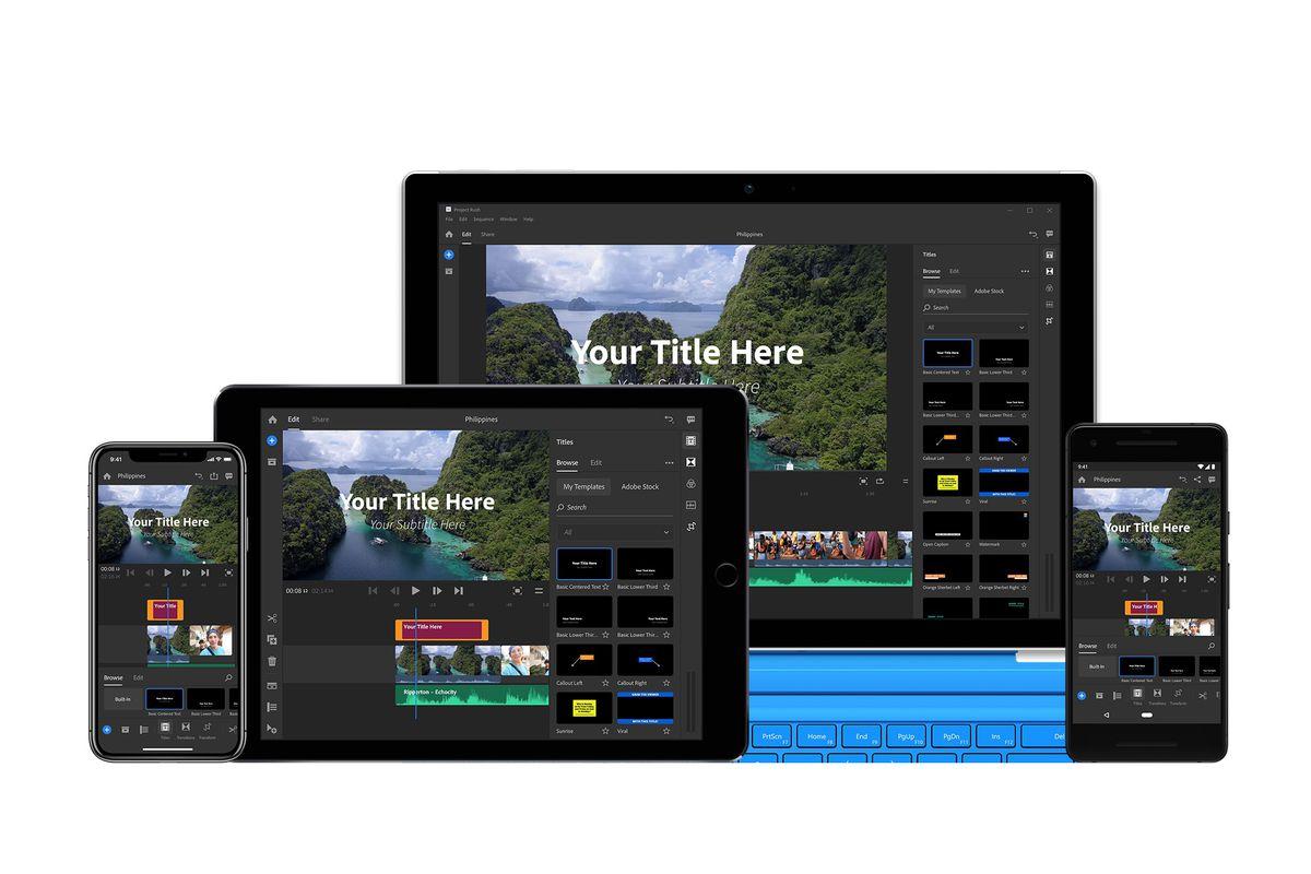 Download Adobe Premiere Rush Apk v1 1 2 3075 +OBB/DATA for Android