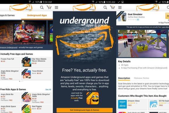 Amazon Underground Shopping App Apk