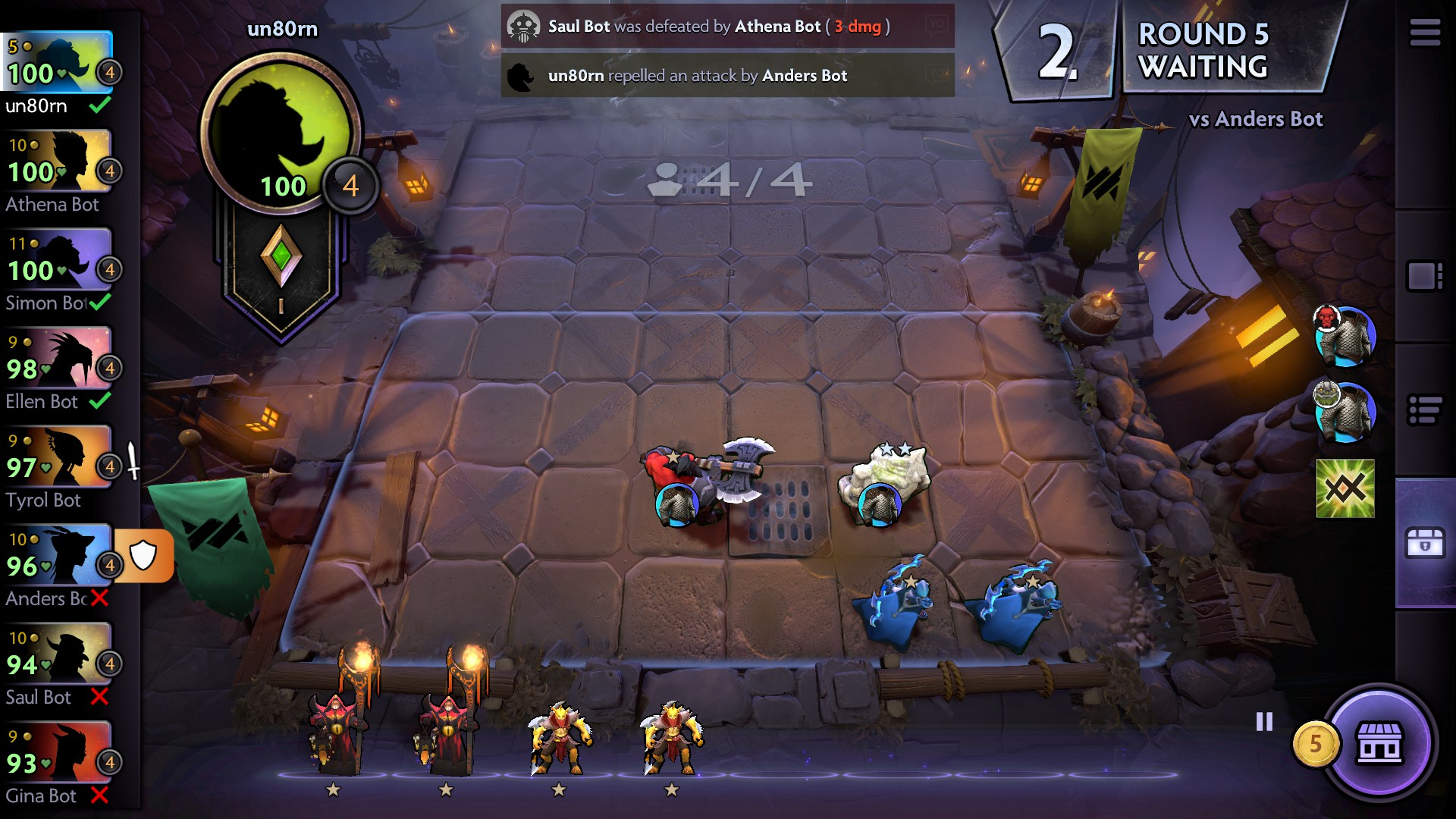 Dota Underlords Mod Apk v1 0 Crack for Android  [One Hit