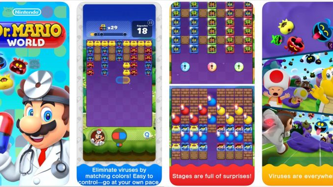 Dr Mario World ipa for iOS iPhone, iPad, iPod Touch Download