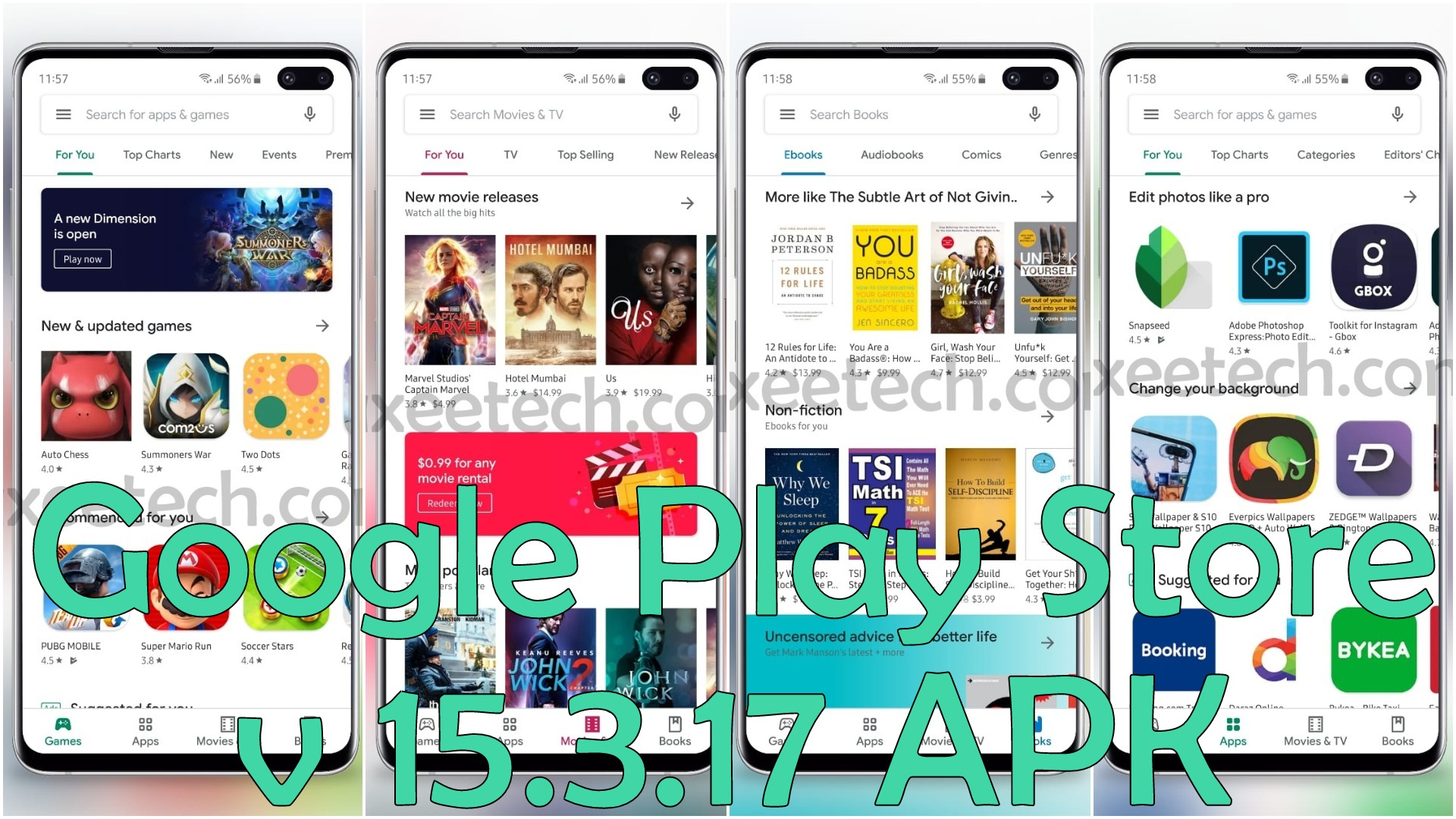 Google Play Store v15 3 17 Apk for Android  [June 2019 All-White
