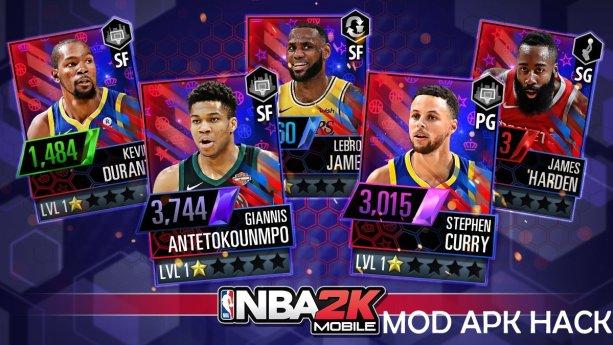 NBA 2K Mobile basketball Mod apk hack v1.0.0 Android