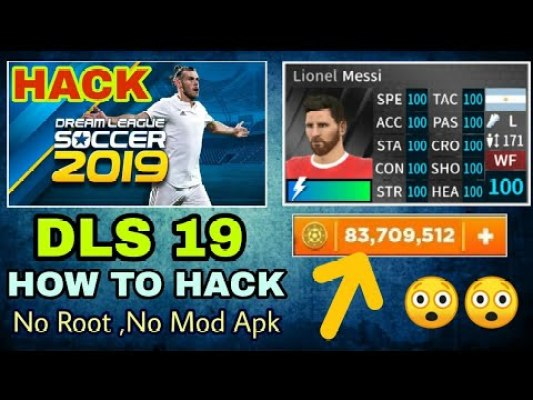 Profiledat for Dream League Soccer 2019 hack coins download