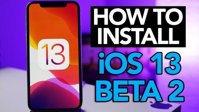 iOS 13 Beta 2 ipsw with Profile Link