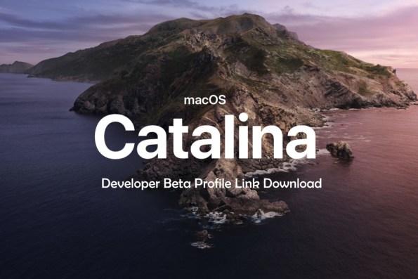 MacOS Catalina 1015 Developer Beta DMG Link