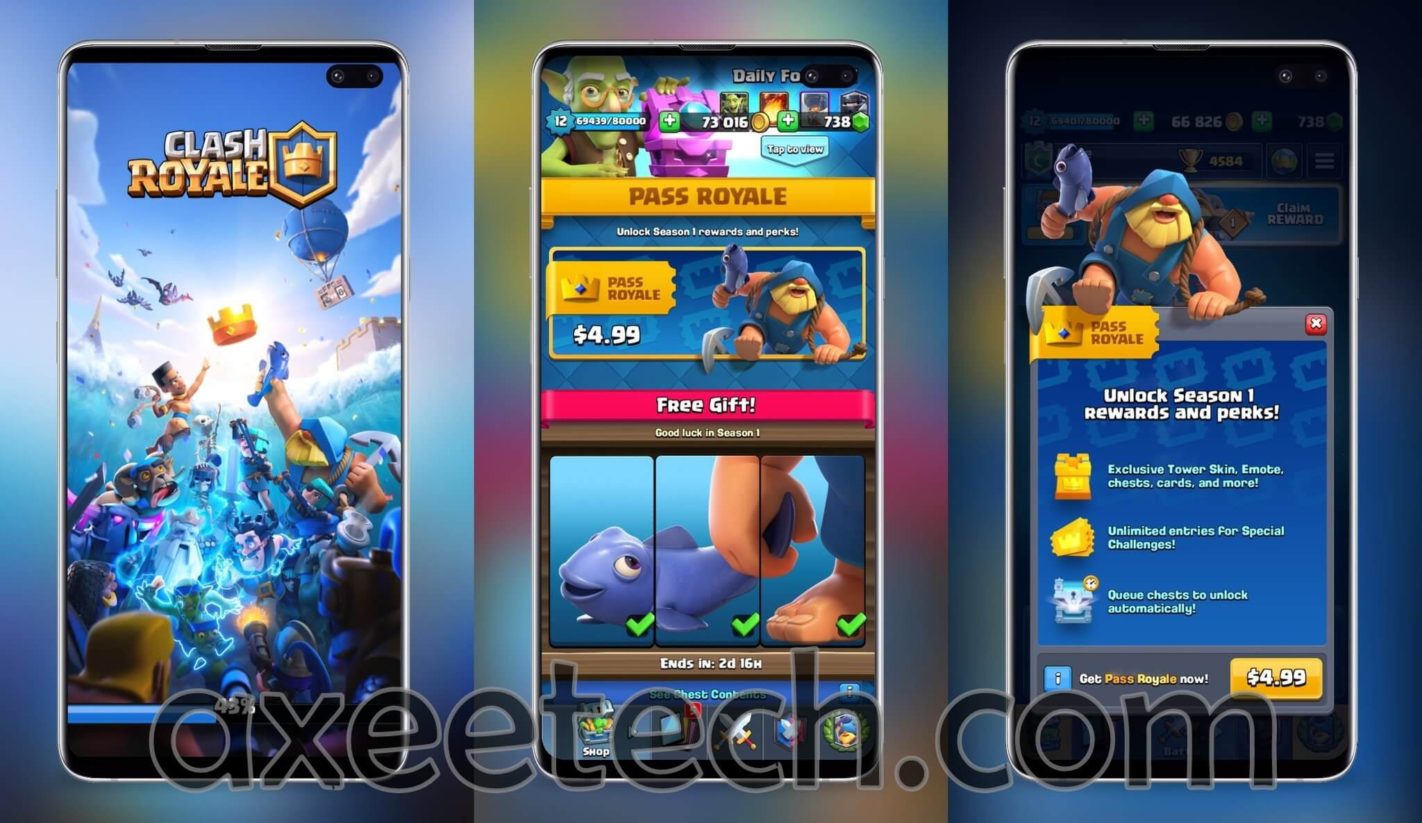 Clash Royale Mod Apk v2 8 0 +OBB/Data with Unlimited Coins