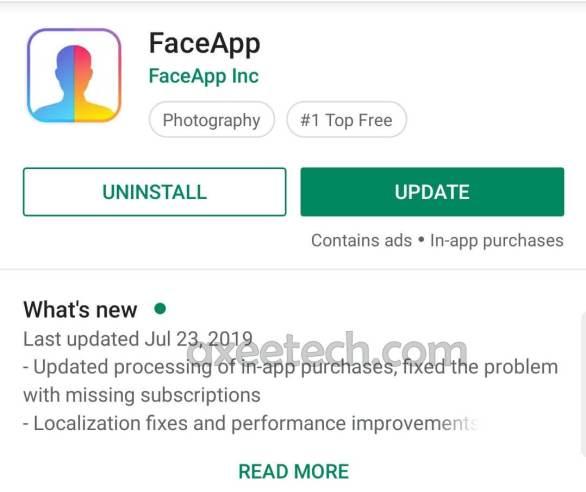 Faceapp Pro Apk 3.4.10 full Cracked unlocked filters