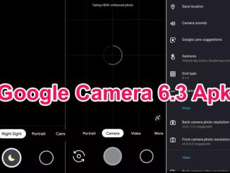 Google Camera 63 Apk GCAM for Android