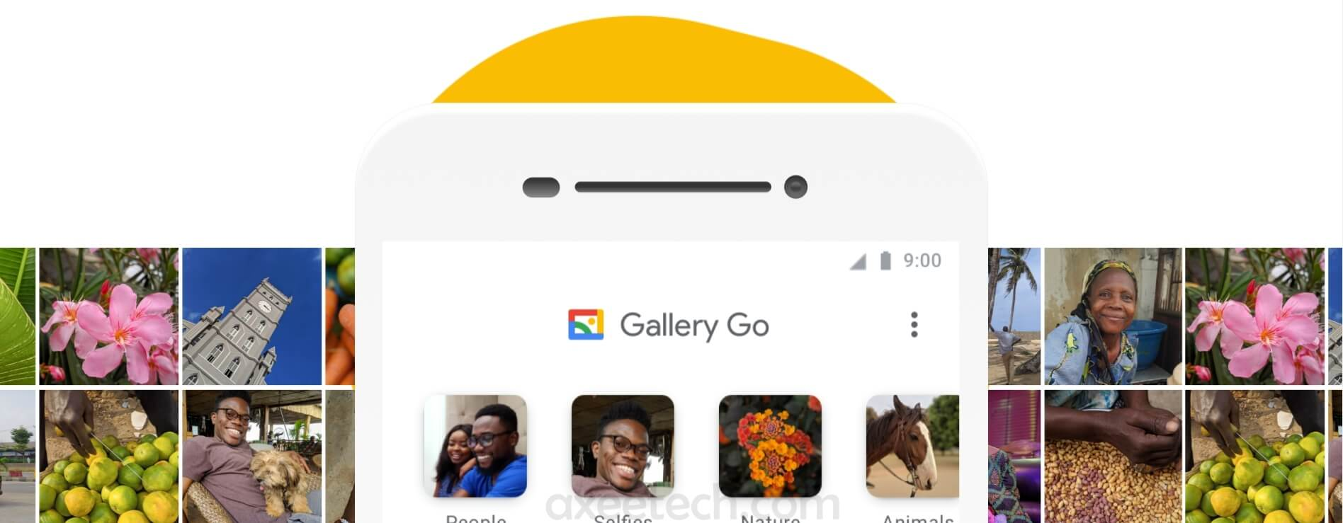 Google Gallery Go Apk for Android a new Lightweight Google