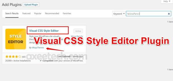 Visual CSS Style Editor Plugin for Text too small to read errors
