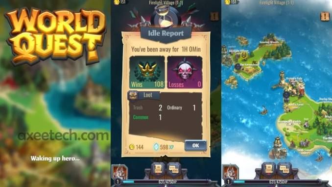 World Quest Android game by Rovio