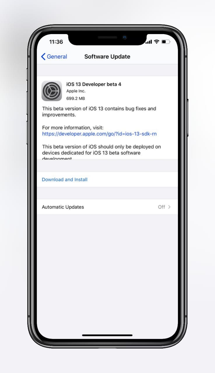 iOS 13 Beta 4 ipsw Direct Download With Profile Links  [17