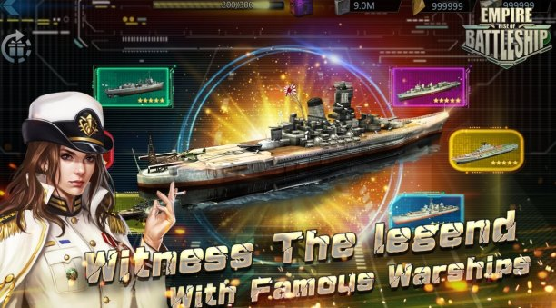 Empire Rise of Battleship Mod Apk hack Android Download