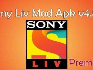Sony Liv Premium Hack Mod APk v4.8.8