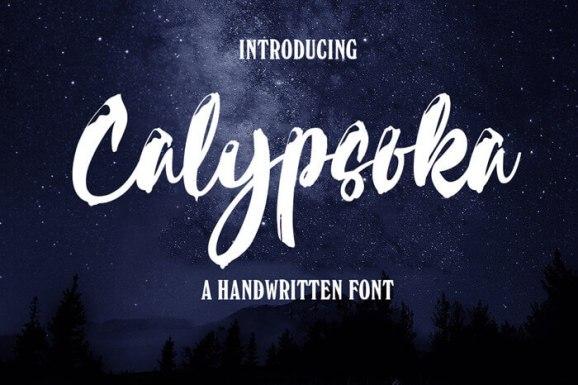 Best Title Fonts calypsolea