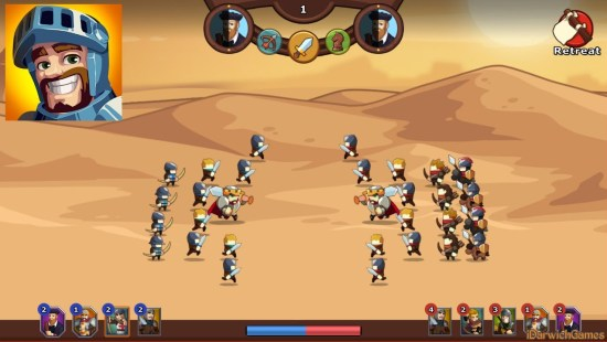 Knights and Glory - Tactical Battle Simulator Mod Apk
