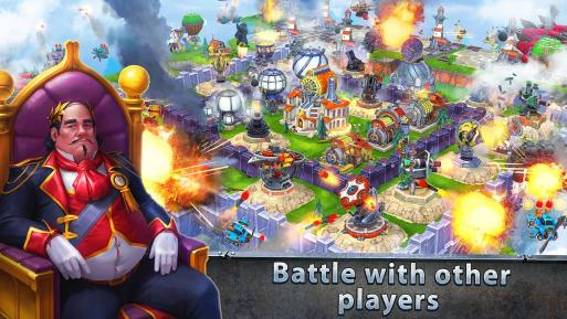 Sky Clash Lords of Clans 3D Mod Apk