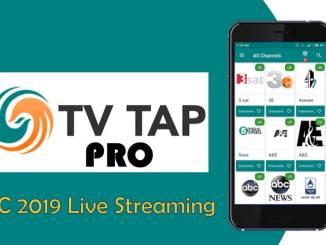 TvTap apk RWC 2019 Live Streaming