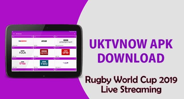 UKTvNow apk RWC 2019 Live Streaming