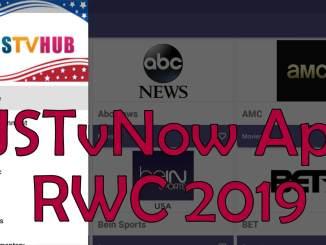 USTvNow RWC 2019 Live Streaming