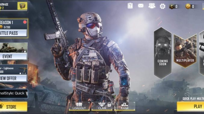 Call of Duty Mobile Mod Apk hack