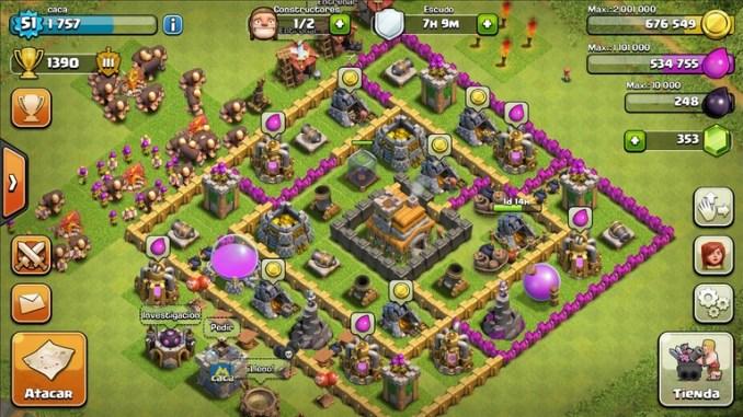 Clash of Clans Mod Apk 11.866.1