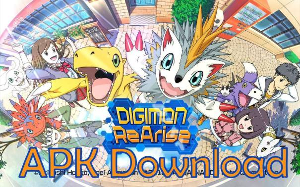 Digimon ReArise Apk OBB Android Download