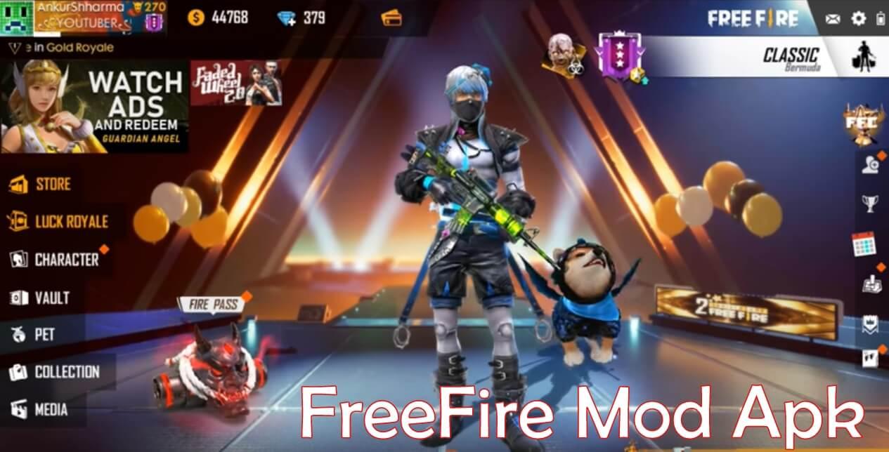 Garena Free Fire Mod Apk v1.41.0 [Aimbot, MOD Menu]