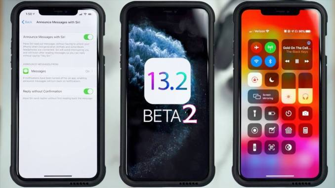 iOS 13.2. Beta 2 iPSW Download links