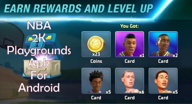 NBA 2K Playgrounds Apk Android