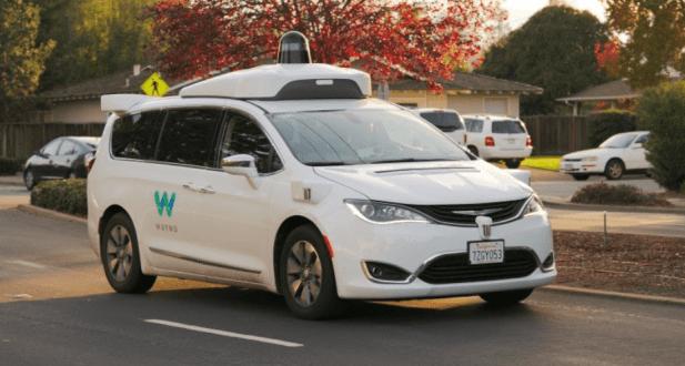 Autonomous Vehicle 5G