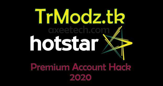 Trmodz.tk Hotstar Mod Apk hack