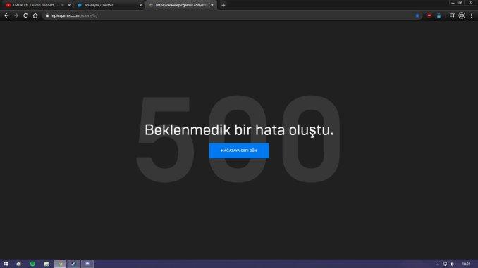 Epic Game Error 500 Fix