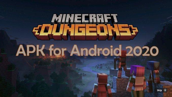 Minecraft Dungeons Apk