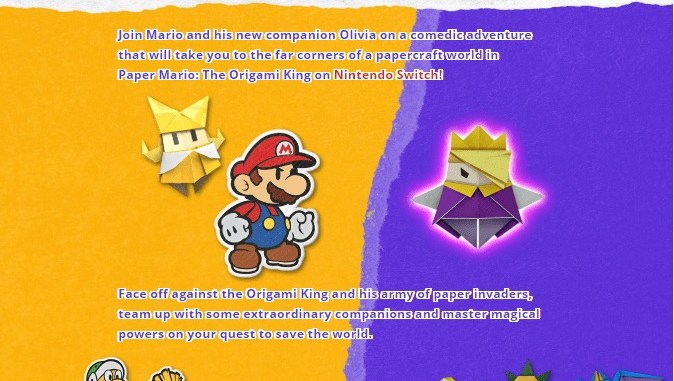 Paper Mario Origami King Apk Android App