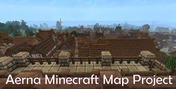 Aerna Largest Minecraft map Project