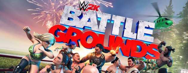 WWE 2K Battlegrounds Apk OBB Data