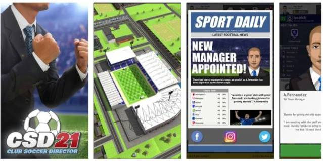 Club soccer director 2021 Apk for Android