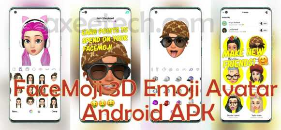 Facemoji Your 3D Emoji Avatar APk Android