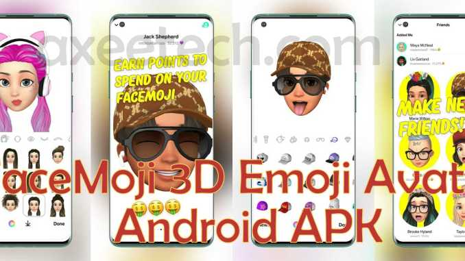 Facemoji Your 3D Emoji Avatar APk Android
