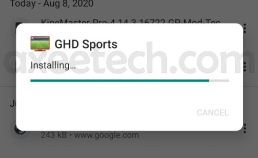 GHD Sports Installation Guide